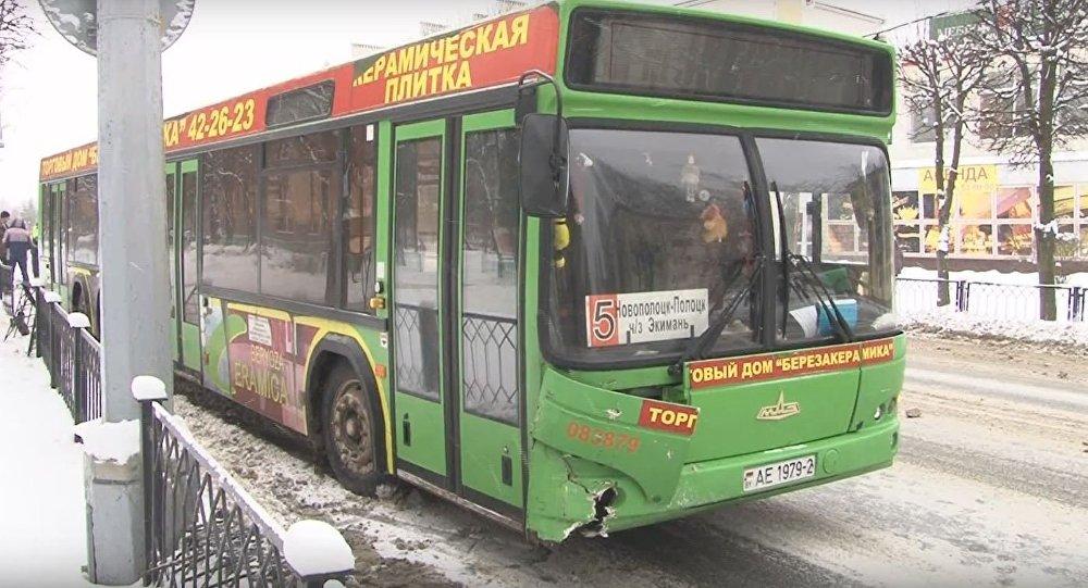 Автобус в Новополоцке