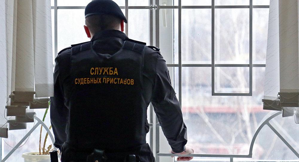 Судебный пристав в России, архивное фото