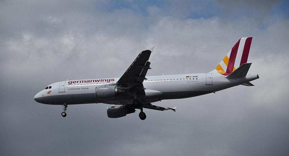 Самолет компании Germanwings
