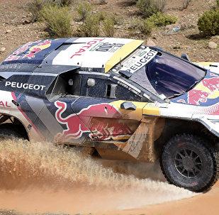 Машина Peugeot Стефана Петеранселя