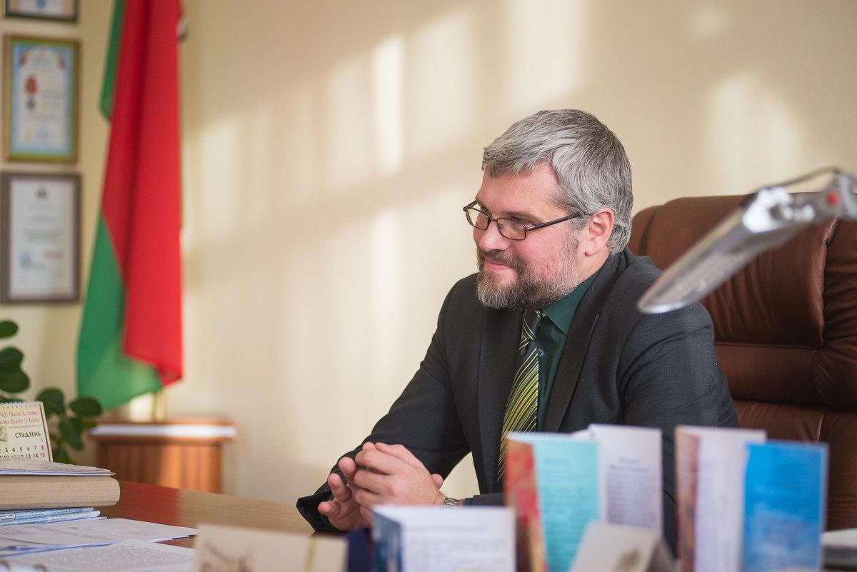 Дырэктар Інстытута гісторыі НАН Беларусі Вячаслаў Даніловіч