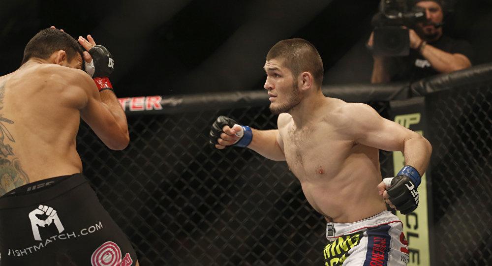 Нурмагомедов хочет сделать все, чтобы завоевать титул UFC вбою сФергюсоном