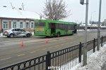 ДТП с участием пассажирского автобуса в Пинске