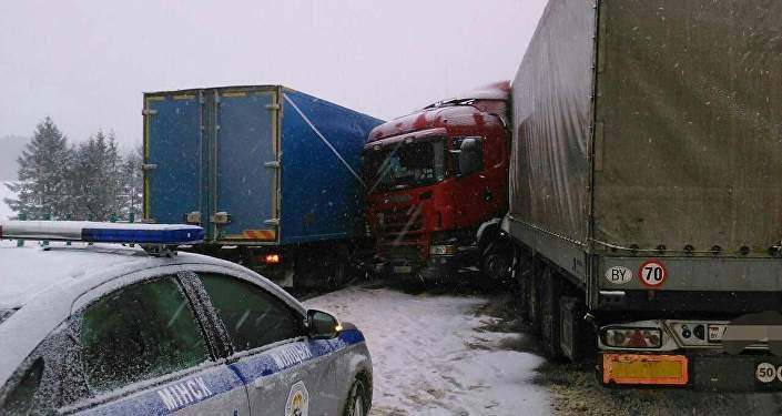 21 февраля авария ситроен и фура