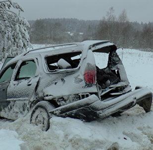 Смертельное ДТП на трассе Минск - Ошмяны