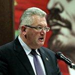 Первый секретарь ЦК КПБ, заместитель председателя Мингорисполкома Игорь Карпенко