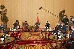 Встреча Александра Лукашенко с министром обороны и военной промышленности Египта Седки Собхи