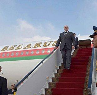 Президент Беларуси Александр Лукашенко прибыл с официальным визитом в Египет