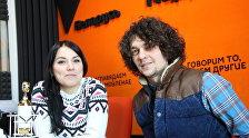 Группа NAVI в студии радио Sputnik Беларусь