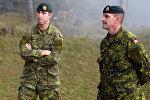 Канадские военнослужащие, архивное фото