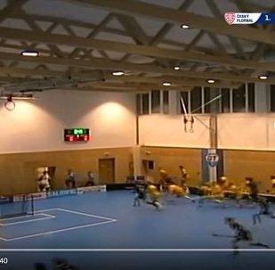 В Чехии крыша спортзала обрушилась во время матча по флорболу