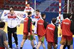 Перед матчем гандбольного ЧМ между сборными Хорватии и Беларуси