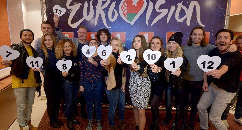 Участники финала нацотбора на Евровидение-2017