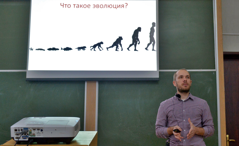 Кандидат биологических наук Василий Панкратов исследует генетику белорусов