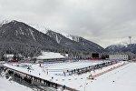 На стрельбище стадиона Sudtirol Arena