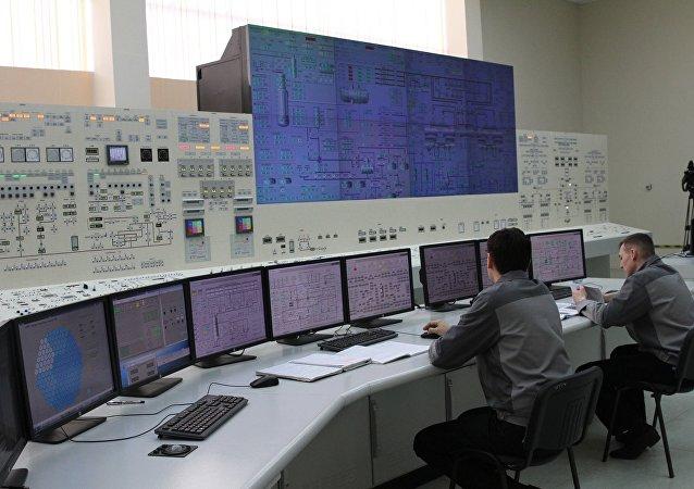 Запуск тренажеров блочного пульта управления БелАЭС