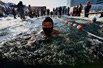 Международные соревнования по зимнему плаванию