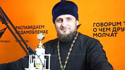 Настоятель православного прихода в честь Святого Николая Японского отец Павел Сердюк