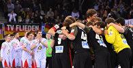 Сборные Беларуси и Германии по гандболу