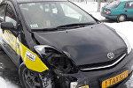 Toyota Prius на штрафстоянке в Бресте