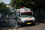 Машина скорой помощи в Индии, архивное фото