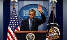 Последняя пресс-конференция Обамы