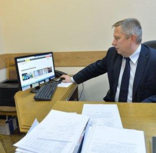 Начальник управления контакт-центра ЖКХ Игорь Кириленков