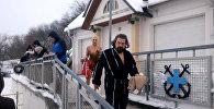 Крещение в Минске: паломничество к полынье