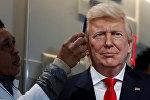 Фигура Дональда Трампа в музее Grevin в Париже
