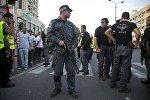 Израильская полиция в Тель-Авиве