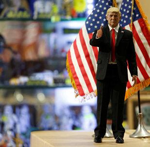 Кукла нового президента США Дональда Трампа