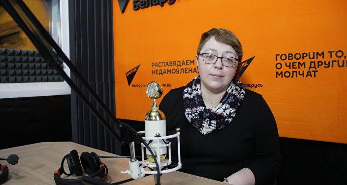 Oбозреватель агентства Sputnik Елена Ольшанская