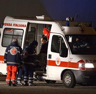 Автомобиль скорой помощи в Италии