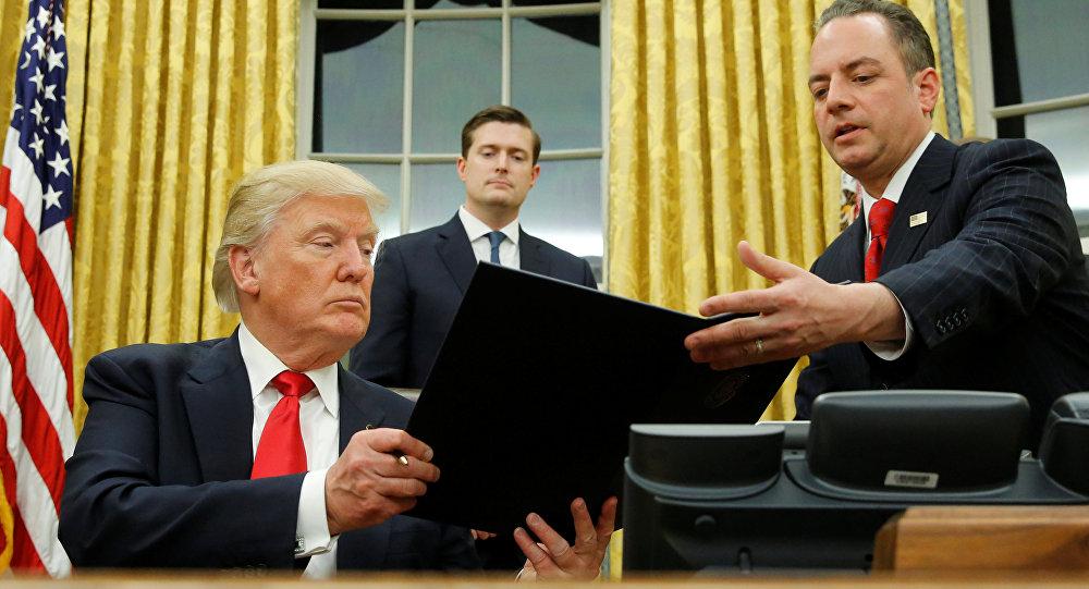 Трамп сегодня подписал указ о выходе США из Транстихоокеанском партнерства