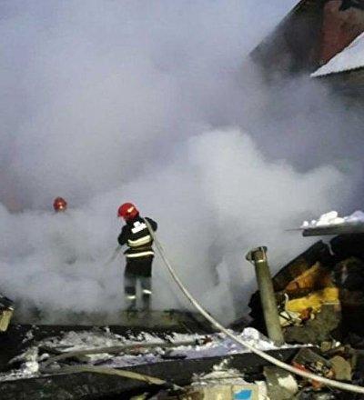 Взрыв в гаражном кооперативе в Мачулищах