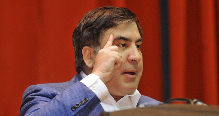 Саакашвили закатил истерику у руководителя Минюста: «Ястрану построил, ублюдок!»