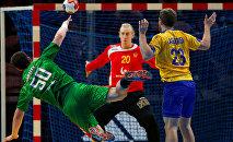 Бросок Артема Королька в матче против Швеции