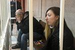 Обвиняемые по делу о двойном заказном убийстве на Алибегова