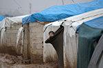 Лагерь мигрантов, архивное фото