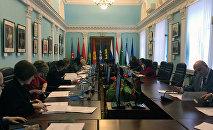 Заседание экспертов в штаб-квартире СНГ в Минске