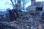 Пожар в Ошмянском районе