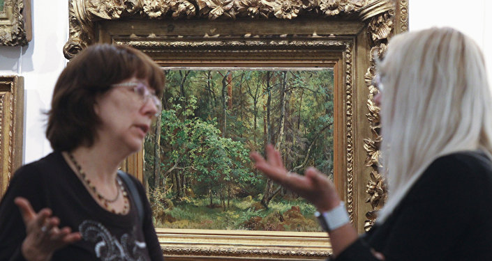 Картину Шишкина, похищенную изВязниковского музея, обнаружили вРеспублике Беларусь