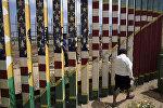 Стена на американо-мексиканской границе