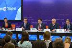 Пресс-конференция посвященная самым ярким проектам Российского военно-исторического общества