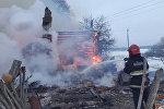 Пожар в Чаусском районе