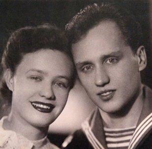 Лидия Кармальская и Владимир Мулявин