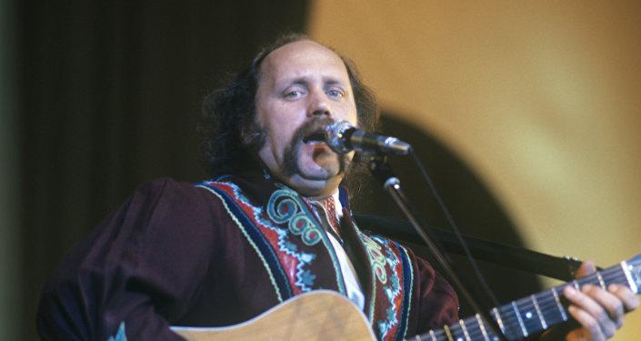 Владимир Мулявин, художественный руководитель ВИА Песняры