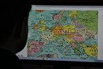 Брытанская дызайнерская студыя Dorothy склала музычную мапу World Song Map