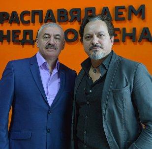 Координатор проекта Александр Левенчук и итальянский продюсер Анджело Сконда