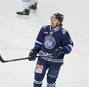 Нападающий минского Динамо Мэтт Эллисон